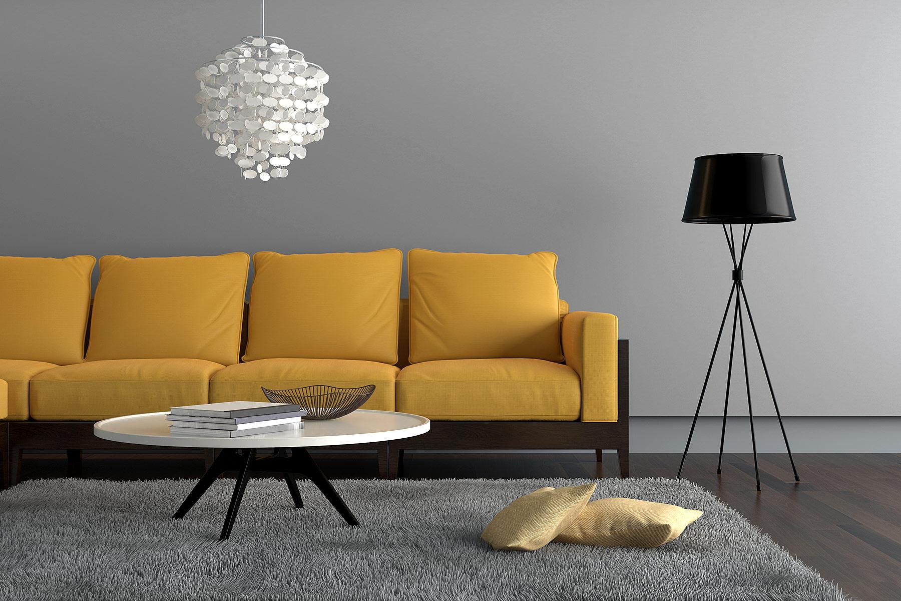 Seis Dicas Para Uma Boa Ambienta O De Uma Sala Pequena Blog  -> Lustres Para Salas Pequenas